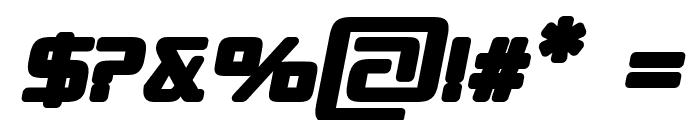 Republika II - Ultra Italic Font OTHER CHARS