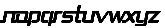 Republika II - Ultra Italic Font LOWERCASE