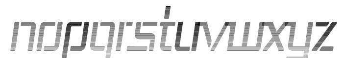 Republika III Cnd - Haze Italic Font UPPERCASE