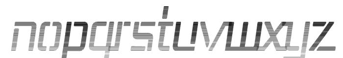 Republika III Cnd - Haze Italic Font LOWERCASE