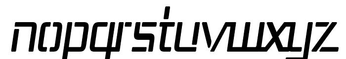 Republika III Cnd Italic Font LOWERCASE