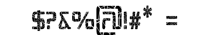 Republika III Cnd - Shatter Font OTHER CHARS