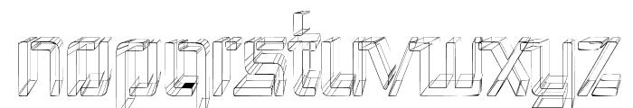 Republika III Cnd - Sketch Font UPPERCASE