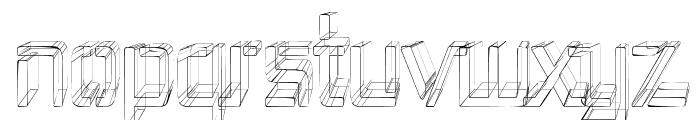Republika III Cnd - Sketch Font LOWERCASE