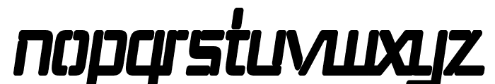 Republika III Cnd - Ultra Italic Font LOWERCASE