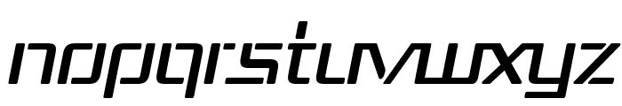 Republika III Italic Font UPPERCASE