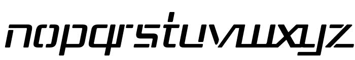 Republika III Italic Font LOWERCASE