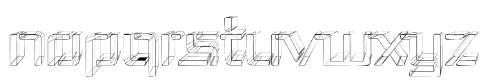 Republika III - Sketch Font UPPERCASE
