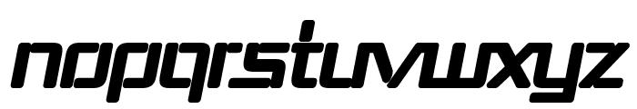 Republika III - Ultra Italic Font UPPERCASE