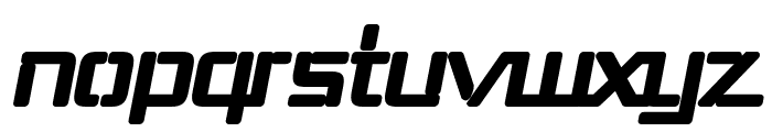 Republika III - Ultra Italic Font LOWERCASE