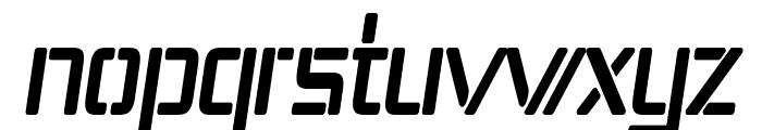 Republika IV Cnd Bold Italic Font LOWERCASE