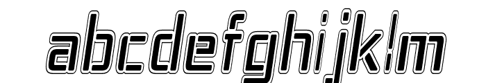 Republika IV Cnd - College Italic Font LOWERCASE