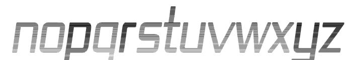 Republika IV Cnd - Haze Italic Font UPPERCASE