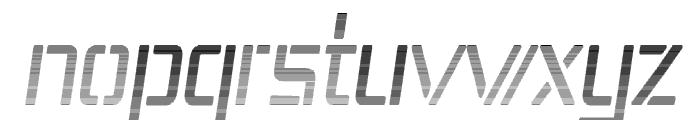 Republika IV Cnd - Haze Italic Font LOWERCASE