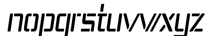 Republika IV Cnd Italic Font LOWERCASE