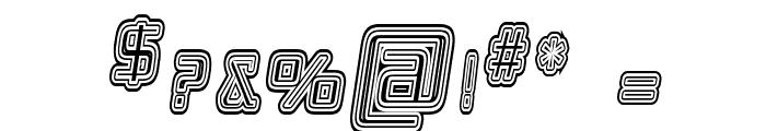 Republika IV Cnd - Maze Italic Font OTHER CHARS