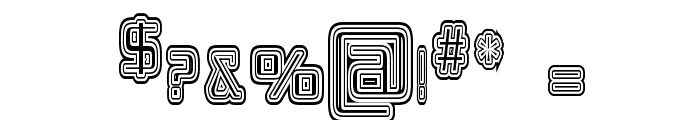 Republika IV Cnd - Maze Font OTHER CHARS