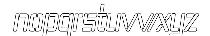 Republika IV Cnd - Outline Italic Font LOWERCASE