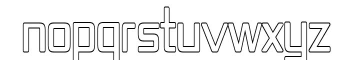 Republika IV Cnd - Outline Font UPPERCASE