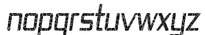 Republika IV Cnd - Shatter Italic Font UPPERCASE