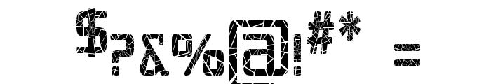 Republika IV Cnd - Shatter Font OTHER CHARS