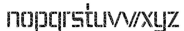 Republika IV Cnd - Shatter Font LOWERCASE