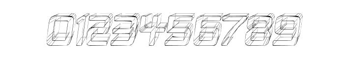 Republika IV Cnd - Sketch Italic Font OTHER CHARS