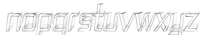 Republika IV Cnd - Sketch Italic Font UPPERCASE