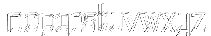 Republika IV Cnd - Sketch Font UPPERCASE