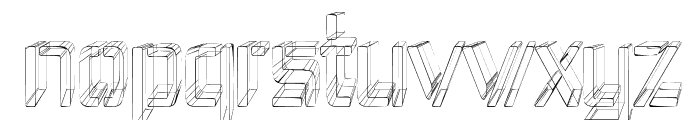 Republika IV Cnd - Sketch Font LOWERCASE