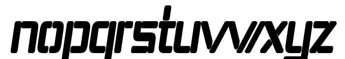 Republika IV Cnd - Ultra Italic Font LOWERCASE