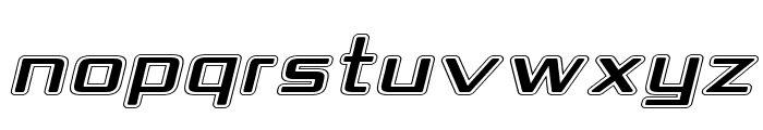 Republika IV Exp - College Italic Font UPPERCASE