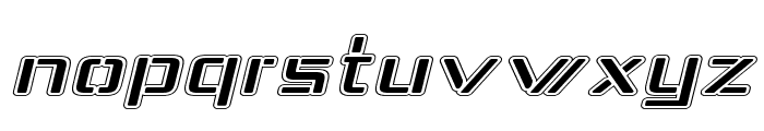 Republika IV Exp - College Italic Font LOWERCASE