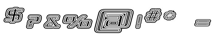Republika IV Exp - Maze Italic Font OTHER CHARS