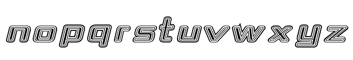Republika IV Exp - Maze Italic Font UPPERCASE