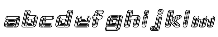 Republika IV Exp - Maze Italic Font LOWERCASE