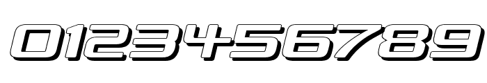 Republika IV Exp - Shadow Italic Font OTHER CHARS
