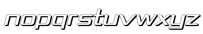 Republika IV Exp - Shadow Italic Font UPPERCASE