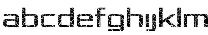 Republika IV Exp - Shatter Font UPPERCASE