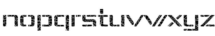Republika IV Exp - Shatter Font LOWERCASE