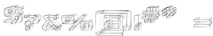 Republika IV Exp - Sketch Font OTHER CHARS