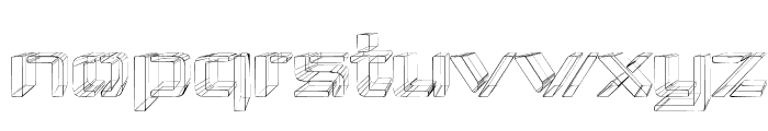 Republika IV Exp - Sketch Font LOWERCASE