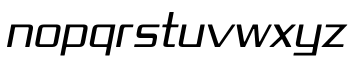 Republika IV - Light Italic Font UPPERCASE