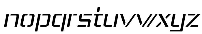 Republika IV - Light Italic Font LOWERCASE