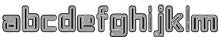 Republika IV - Maze Font LOWERCASE