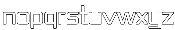 Republika IV - Outline Font UPPERCASE
