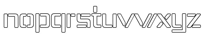 Republika IV - Outline Font LOWERCASE