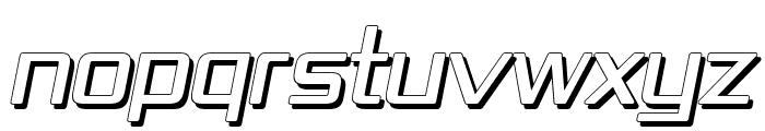 Republika IV - Shadow Italic Font UPPERCASE