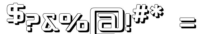 Republika IV - Shadow Font OTHER CHARS