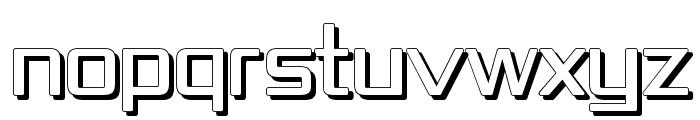 Republika IV - Shadow Font UPPERCASE